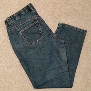 JMS Tummy Control Classic Fit Blue Jeans